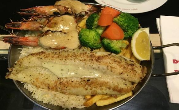 Manhattan Fish Market Muscat Oman
