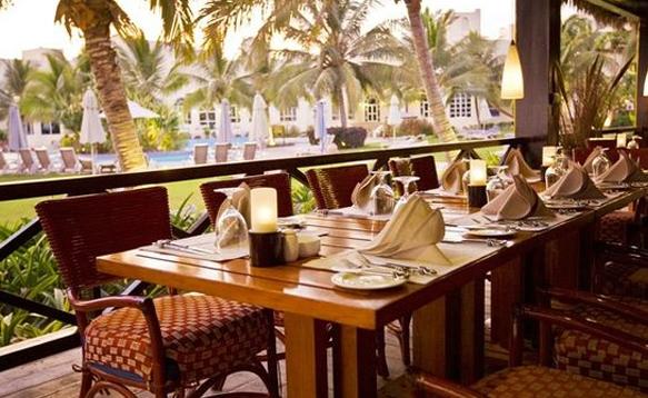 Palm Grove Restaurant Salalah Oman